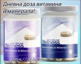 Мултивитамини и минерали – за мъже-29703 – за жени-29704